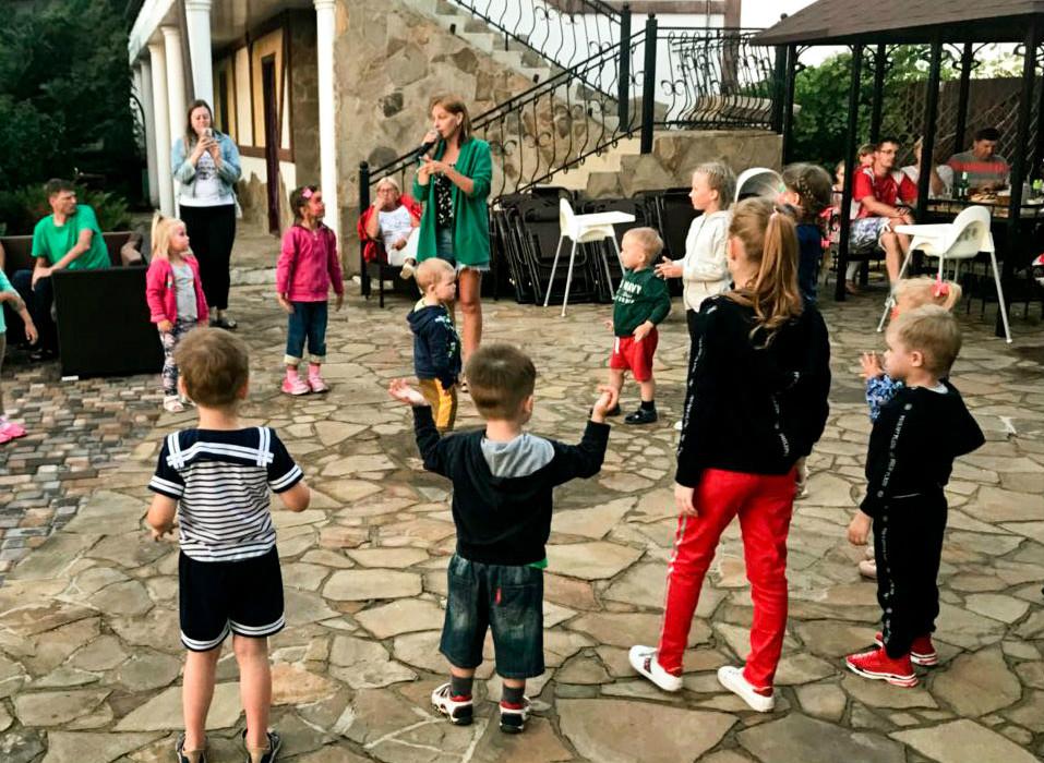 Крым отдых с детьми анимация