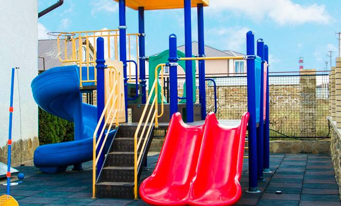Крым отдых детская площадка