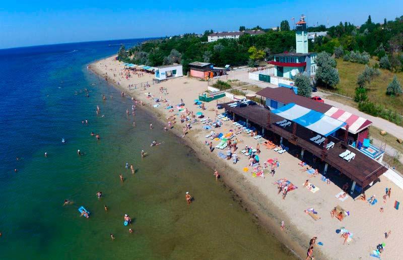 Пляж Заозерное Крым