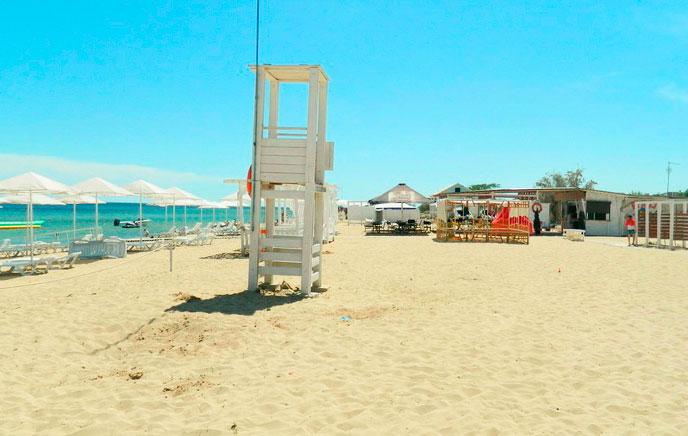 Пансионаты Заозерного с собственным пляжем