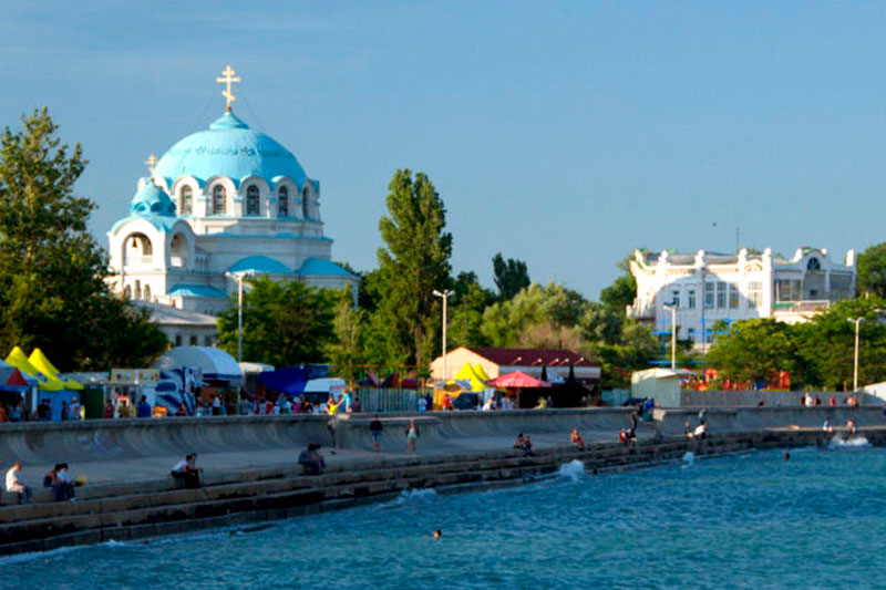 Курорт Евпатория, Крым